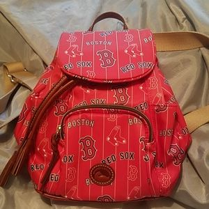 Dooney & Bourke MLB boston red Sox backpack nwt